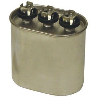 CAPACITOR 370 VAC 45/7.5 MFD OVAL (MARS 12153) (3GJ7545)