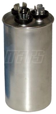 CAPACITOR 440 VAC 60/5 UF MOTOR RUN (ROUND)(MARS 12794) (S1-CAP4405060DR)
