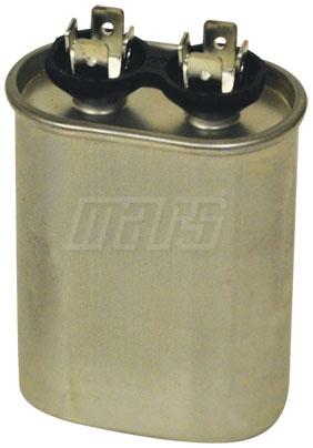 CAPACITOR 370 VAC 35 UF MOTOR RUN (OVAL) (MARS 12918) (37350H)