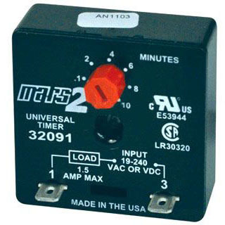 DIVERSITECH ADM-1 ADJ DELAY-ON-MAKE TIMER (MARS 32091) MC288705