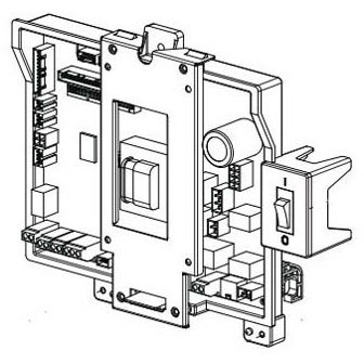 NAVIEN 30012262A PCB BOARD