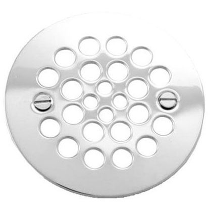//WSL// BRASSTECH 245-15S SATIN NICKEL SHOWER DRAIN COVER (FITS PFG600, 820-2S) SCREW HOLES 2-5/8
