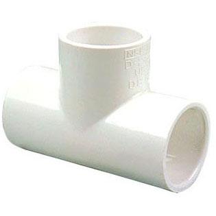 S40 PVC TEE 1-1/4