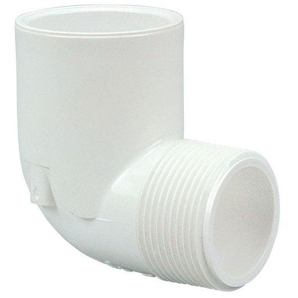 //WSL// S40 PVC 90 ST ELL SxT MIP 1-1/4