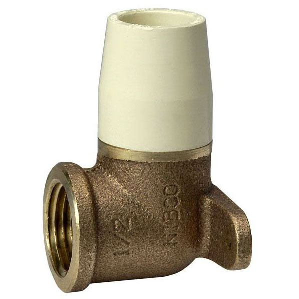 //WSL// NIBCO 4707-3-5B SOC X FIP(BRASS) DROP EAR ELBOW 1/2