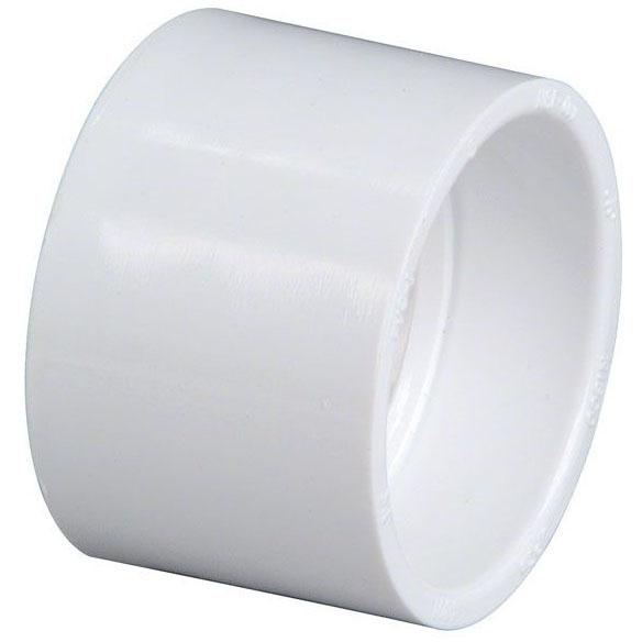 """PVC-DWV 4801 COUPLING 2"""" (PVC 100)"""