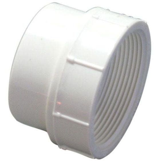 PVC-DWV 4803-2 FTG C.O.ADAPT 1-1/2 (PVC 105) MC8855