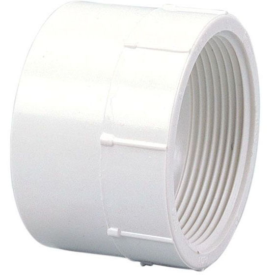 "PVC-DWV 4803 FEM ADAPT 1-1/2"" (PVC 101)"