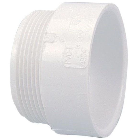 "PVC-DWV 4804 MALE ADAPT 2"" (PVC 109)"