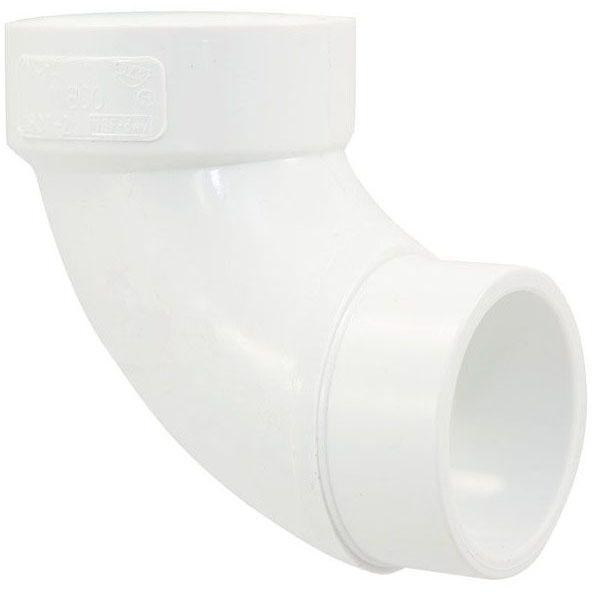"PVC-DWV 4807-2 ST 90 ELL 1-1/2"" (PVC 302)"