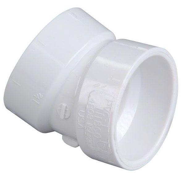 """PVC-DWV 4808 22-1/2 ELL 2"""" (PVC 324)"""