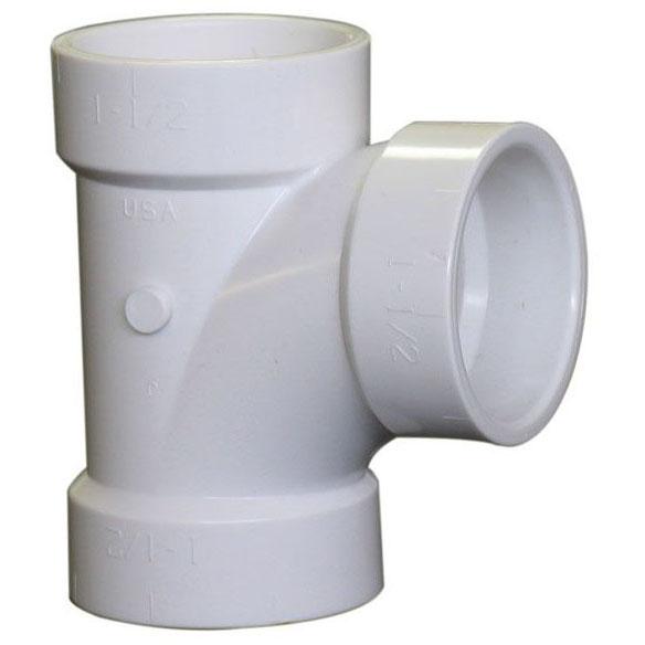 "PVC-DWV 4811 TEE 1-1/2"" (PVC 400)"