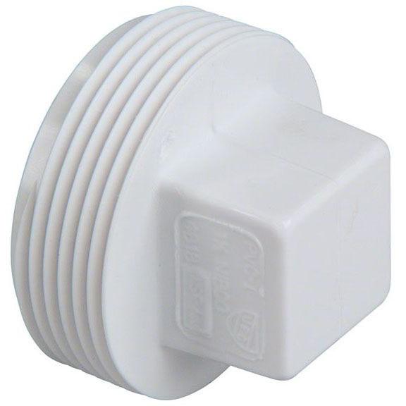 """PVC-DWV 4818 THRD PLUG 4"""" (PVC 106)"""
