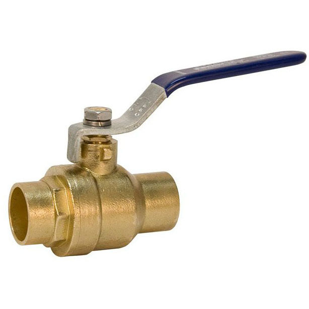 "NIBCO (NLFC) SFP600A12 1/2"" ECONOMY BALL VALVE FULL SWT      *** NOT FOR POTABLE WATER ***"