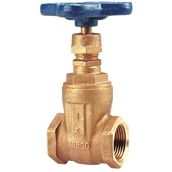 "NIBCO (NLFC) T113 3/4"" BRONZE GATE VALVE IPS   *** NOT FOR POTABLE WATER ***"