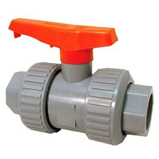 CPVC U51TB-V TRUE UNION BALL VALVE 1-1/2 (1839-015C) MC4422