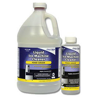 NU-CALGON 4207-47 LIQUID ICE MACHINE CLEANER 8OZ (SAFE ON STAINLESS STEEL) MC2834
