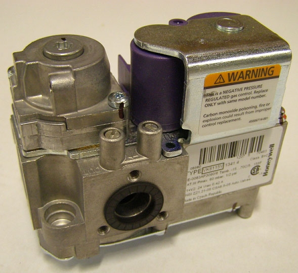 NTI 83204-1 GAS VALVE (CVI) VK8115F1134B, (LX150-300, T150-200, Tft60-250, Ti100-200, Ts80) (REPLACES 82054) MC61432