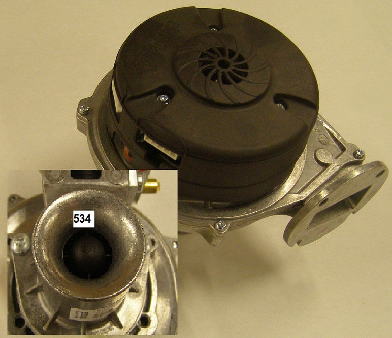 //WSL// NTI 84910 BLOWER AND VENTURI ASSEMBLY (TX 81)