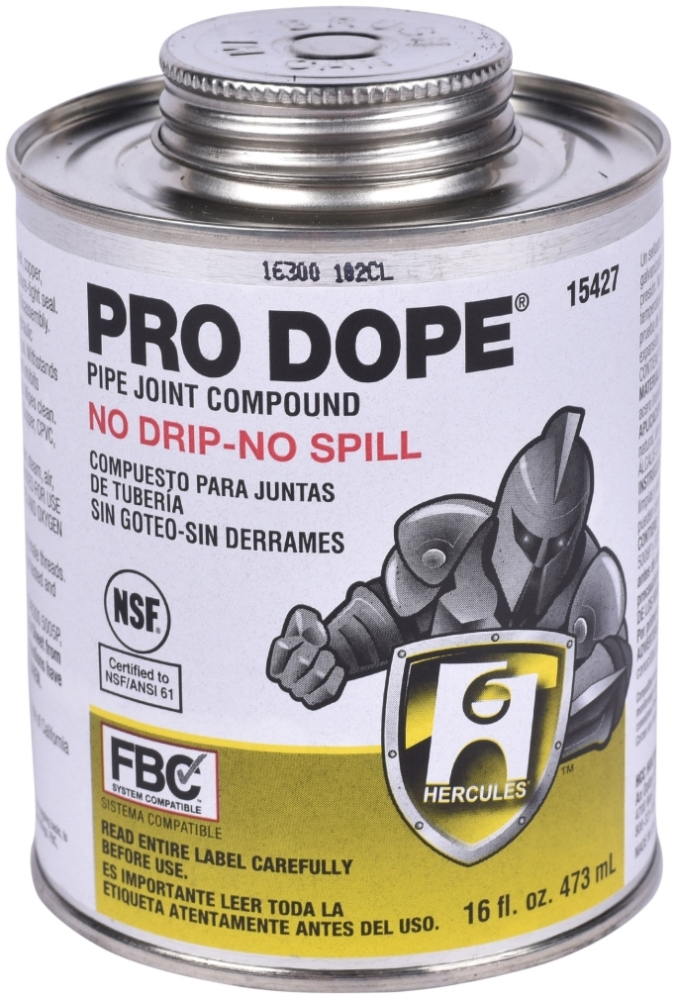 HERCULES 15-427 PRO DOPE 1 PT (SDS #40 NOT REQUIRED DOT) MC3932