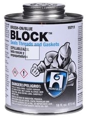 HERCULES 15-711 BLUE BLOCK SEALANT 1 PT