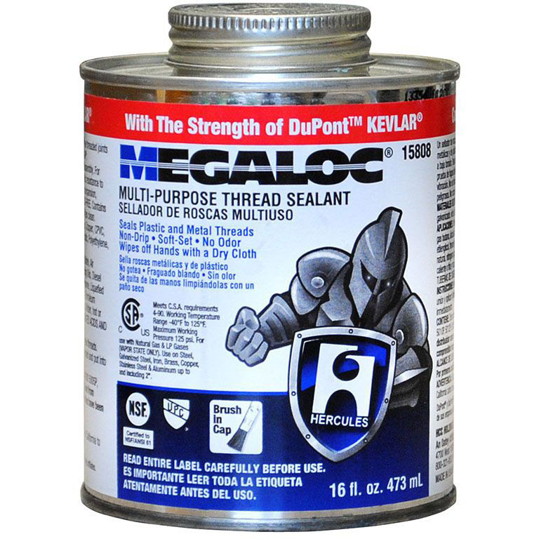 HERCULES 15-808 MEGALOC THREAD SEALANT 1 PT (SDS #142 NOT REQUIRED DOT)