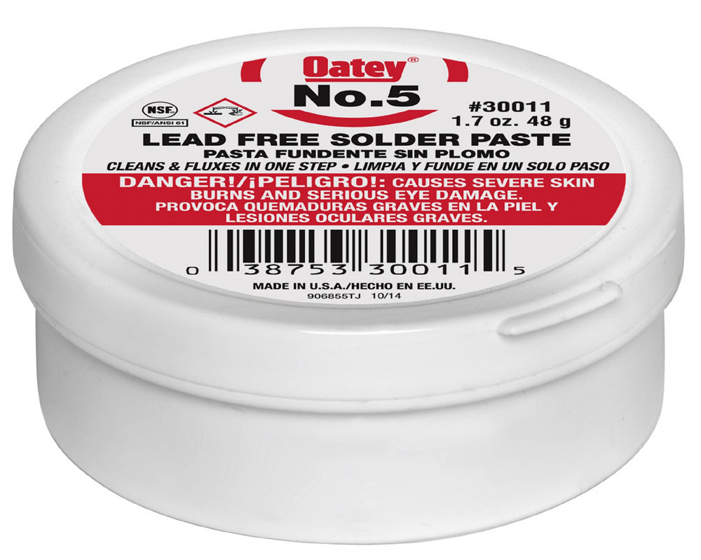 OATEY 30011 1.7oz FLUX #5 (SDS #73 NOT REQUIRED DOT) MC2047