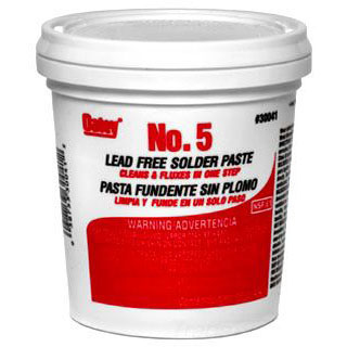 OATEY 30041 16oz FLUX #5 (SDS #73 NOT REQUIRED DOT)