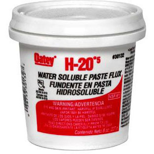 OATEY 30132 8oz WATER SOLUBLE FLUX (SDS #36 NOT REQUIRED DOT)