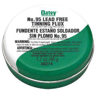 OATEY 30374 1.7oz TINNING FLUX #95 (SDS #142 NOT REQUIRED DOT)