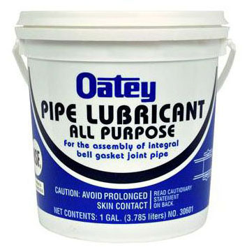 OATEY 30600 GASKETED SEWER FITTING LUBE 1 QT