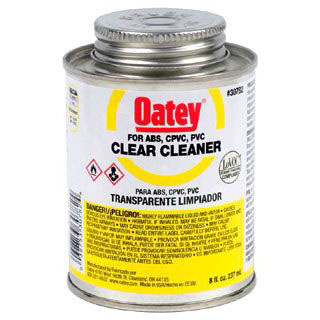 OATEY 30782 8oz ALL PURPOSE CLEANER CLEAR MC7923