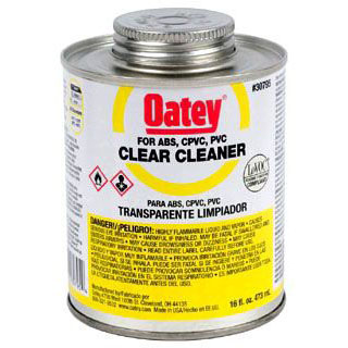 OATEY 30795 16oz ALL PURPOSE CLEANER CLEAR MC2841