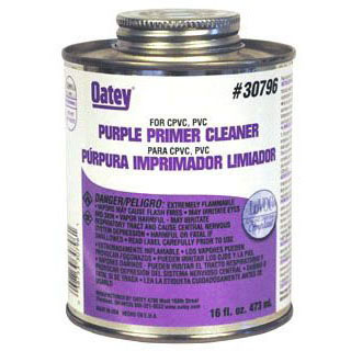 OATEY 30796 16oz ALL PURPOSE CLEANER/PRIMER PURPLE MC1203