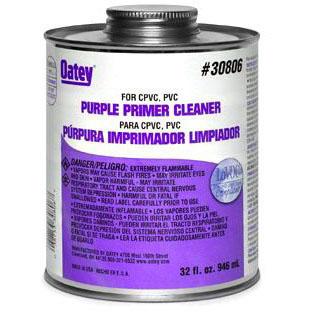 OATEY 30806 32oz ALL PURPOSE CLEANER/PRIMER PURPLE