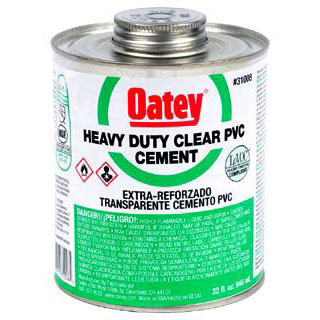 OATEY 31008 32oz PVC CEMENT HEAVY DUTY MC2839