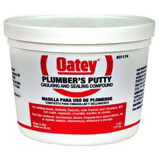 OATEY 31174 5lb OATEY PUTTY (SDS #75 NOT REQUIRED DOT) MC7909