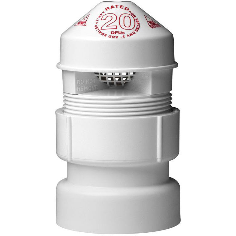 OATEY 39017 SURE VENT-II MINI 20 DFU RATED (1-1/2