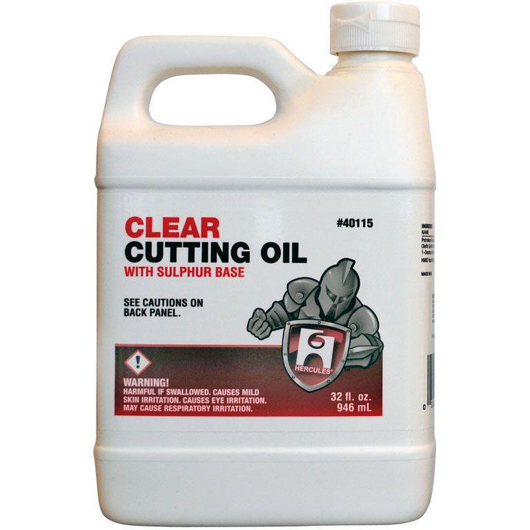 HERCULES 40-115 CLEAR CUTTING OIL 1 QT MC2829