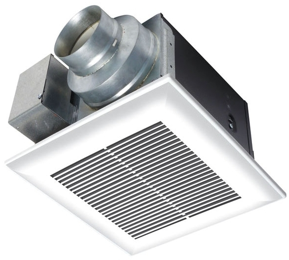 //WSL// PANASONIC FV-11VQ5 WHISPERCEILING BATH FAN ONLY, VENTILATING 110CFM .3 SONES (no longer available from mfg.)