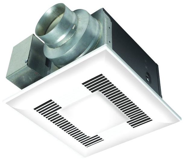 PANASONIC FV-11VQL6 WHISPERLITE BATH FAN-LIGHT, VENTILATING 110 CFM 1.0 SONES (REPLACES FV-11VQL5)