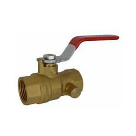 "R&W 5060 IPS BALL VALVE FULL 1/2"" VENTED"