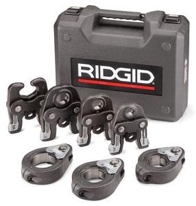 "RIDGID 48553 MEGAPRESS KIT FOR RIDGID PRESS TOOLS (INCLUDES 1/2"" - 2"" JAWS AND RINGS)"