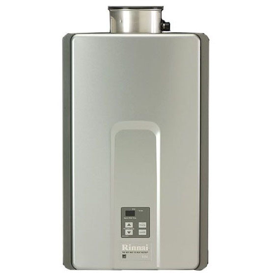 RINNAI RL94iP 9.4GPM INDOOR PROPANE COMMERCIAL/RESIDENTIAL 199K BTU TANKLESS WATER HEATER *** INCLUDES VALVE KIT (IPS) ***