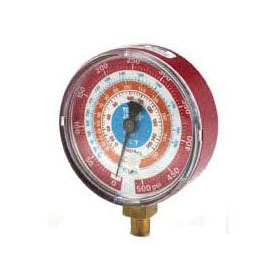 """RITCHIE 49137 REPLACEMENT GAUGE RED 3-1/8"""""""