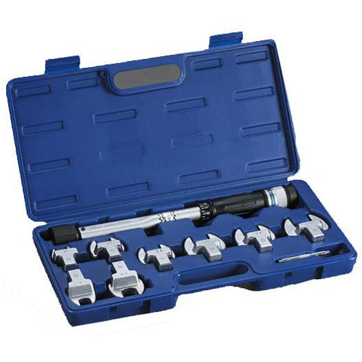 RITCHIE 60650 METRIC TORQUE WRENCH KIT 17,22,24,26,27,29 JAW SIZES