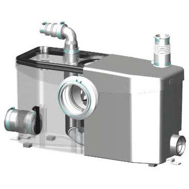 SANIFLO 002 SANIPLUS MACERATING PUMP ONLY (WHEN OUT NO LONGER AVAILBLE)