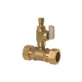 SIOUX 601-G30CV 7/8 COMP X 1/4 OD ADD-A-VALVE (LFC) ** LEAD FREE COMPLIANT **