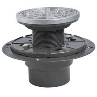 SIOUX 821-200PNR CAST METAL RING SHOWER DRAIN