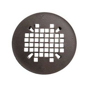 SIOUX 827-2RB OIL-RUBBED BRONZE REPLACEMENT STRAINER FOR SNAP-IN SHOWER PAN DRAINS (ROUND) **Cat#2**